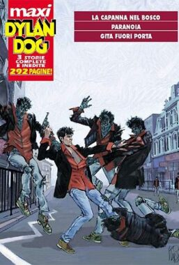 Copertina di Dylan Dog Maxi 14 – Tre Storie