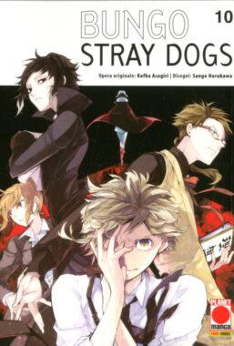 Copertina di Bungo Stray Dogs n.10