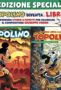 Copertina di Supertopolino n.3401 + Topolibro