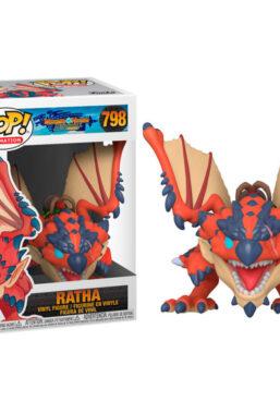 Copertina di Monster Hunter Ratha Funko Pop 798