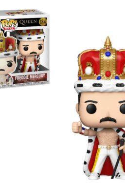 Copertina di Queen Freddie Mercury King Funko Pop 184
