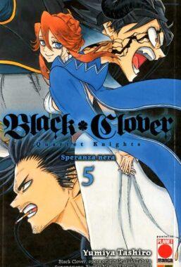 Copertina di Black Clover Quartet Knights n.5