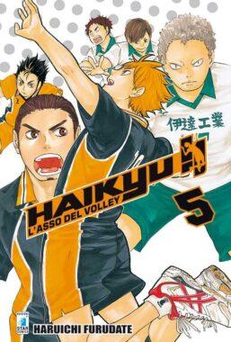 Copertina di Haikyu!! n.5 – Target 50