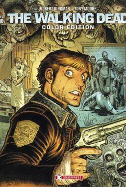 Copertina di The Walking Dead Color Edition n.1 Variant
