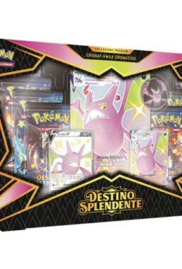 Copertina di Pokemon S&S Destino Splendente Crobat Vmax Cromatico Premium