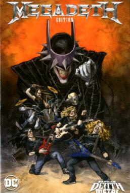 Copertina di Batman – Death Metal n.1 Variant Band