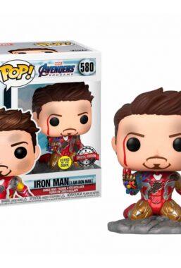 Copertina di Avengers Endgame I Am Iron Man Funko Pop 580