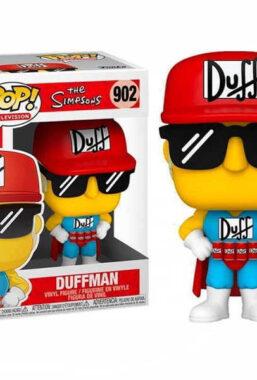Copertina di Simpsons Duffman Funko Pop 902