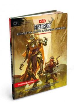 Copertina di Dungeons & Dragons – 5a edizione – Eberron