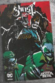 Batman – Death Metal n.2 Variant Band