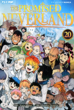 Copertina di The Promised Neverland n.20