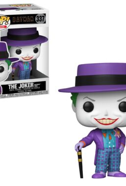 Copertina di Batman 1989 Joker W/Hat Funko Pop 337