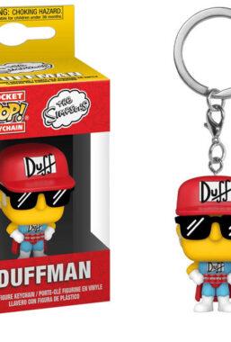 Copertina di Simpsons Pocket Pop Keychains Duffman