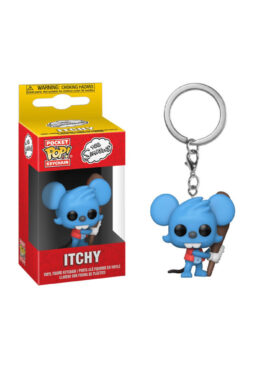 Copertina di Simpsons Pop! Itchy Kaychains