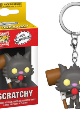 Copertina di Simpsons Pop! Scratchy Keychains