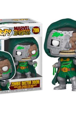 Copertina di Marvel Zombie Dr. Doom Funko Pop 789