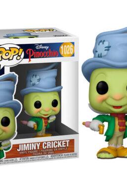 Copertina di Pinocchio 80th Ann.Street Jiminy Funko Pop 1026