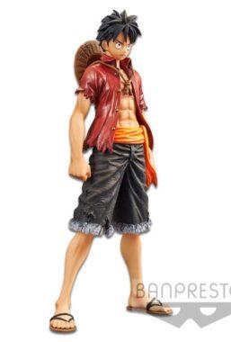 Copertina di One Piece Stampede Movie Monkey D. Luffy Figure