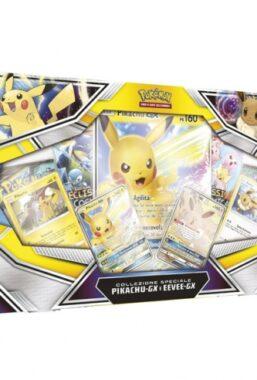 Copertina di Pokemon – collezione speciale pikachu – gx e eevee – gx