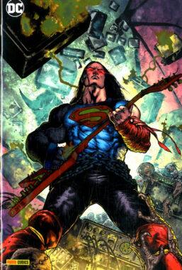 Copertina di Batman – Death Metal n.3 Variant Metal
