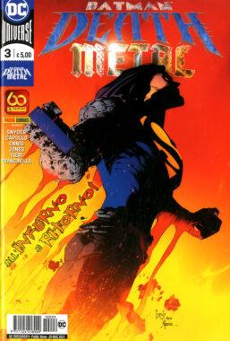 Copertina di Batman – Death Metal n.3