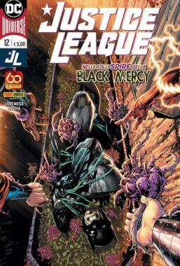 Copertina di Justice League n.12