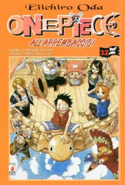 Copertina di One Piece n.32 – Young 129