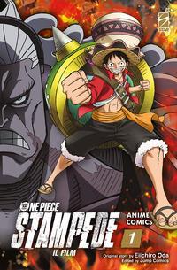 Copertina di One Piece Il Film: Stampede n.1 Anime Comics