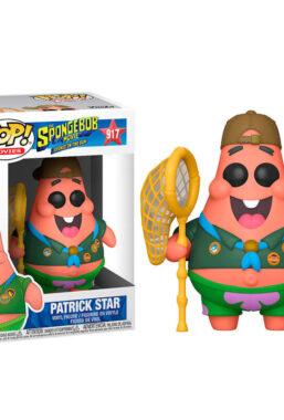 Copertina di Spongebob Patrick Camping Gear Funko Pop 917