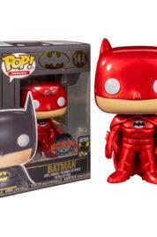 Batman Red Metallic Exclusive Funko Pop 144