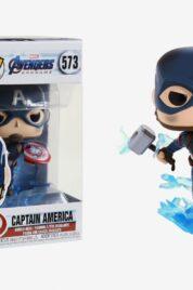 Capitan America Broken Shield&Mjolnir Funko Pop 573