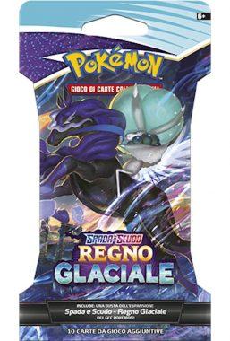 Copertina di Pokemon S&S Regno Glaciale busta
