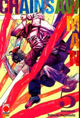 Copertina di Chainsaw Man n.5