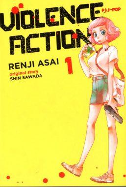 Copertina di Violence Action n.1