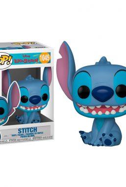 Copertina di Lilo & Stitch Smiling Seated Stitch Funko Pop 1045