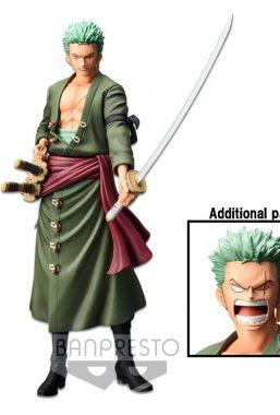 Copertina di One Piece Grandista Roronoa Zoro Figure