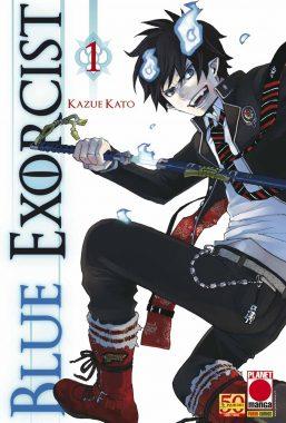 Copertina di Blue Exorcist n.1