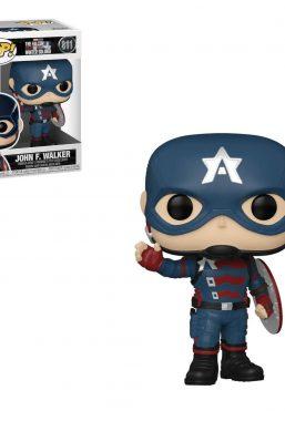 Copertina di Falcon & Winter Soldier Captain America Funko Pop 811