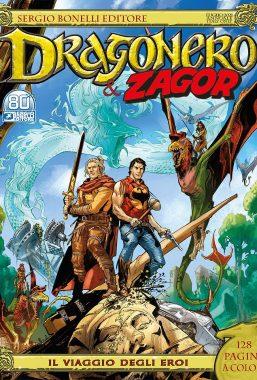 Copertina di Dragonero Speciale n.8 – Il Viaggio degli Eroi
