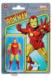 Marvel Legends Retro Iron Man Figure