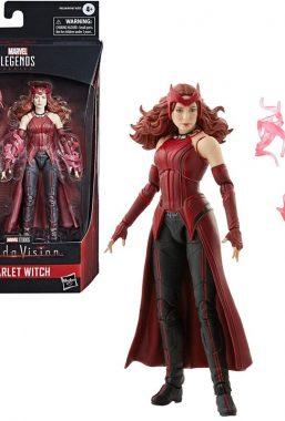 Copertina di Marvel Legends Scarlet Witch Figure