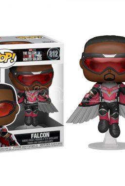 Copertina di Falcon & Winter Soldier Falcon Flying Funko Pop 812