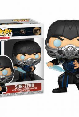 Copertina di Mortal Kombat Movie Sub Zero Funko Pop 1057