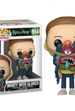 Copertina di Rick & Morty Morty W/Glorzo Funko Pop 954