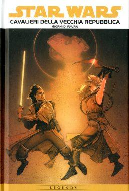 Copertina di Star Wars Epic – Cavalieri della Vecchia Repubblica 1: Giorni di Paura