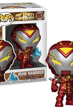 Copertina di Marvel Infinity Warps Iron Hammer Funko Pop 857