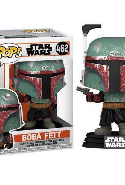 Copertina di Star Wars Mandalorian Boba Fett Funko Pop 462
