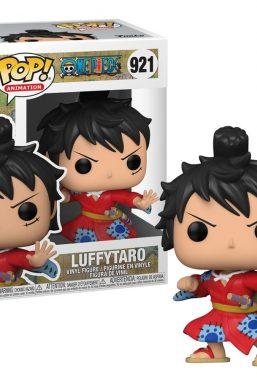 Copertina di One Piece Luffy in Kimono Funko Pop 921