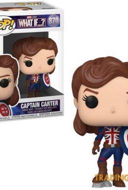 Copertina di What if…? Captain Carter Funko Pop 870