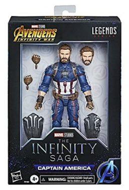 Copertina di Marvel Legends Captain America
